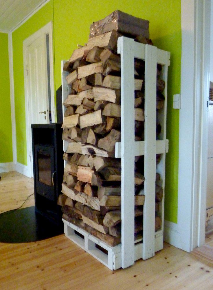 ranger et stocker le bois de chauffage