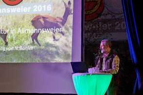 """Bilder vom Vortrag """"Jagd und Natur"""""""