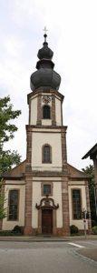 Die Kirche in Allmannsweier Foto: Christoph Breithaupt
