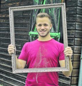 Christian Drexler (24) schätzt an Allmannsweier »die geile Dorfgemeinschaft«. Foto:© Thorsten Mühl