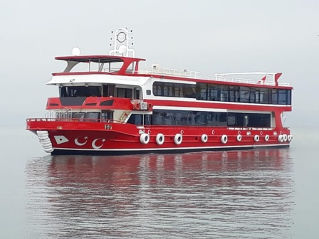 Bateau restaurant passagers receptif de luxe 39 m 300 invites 2013 (3)