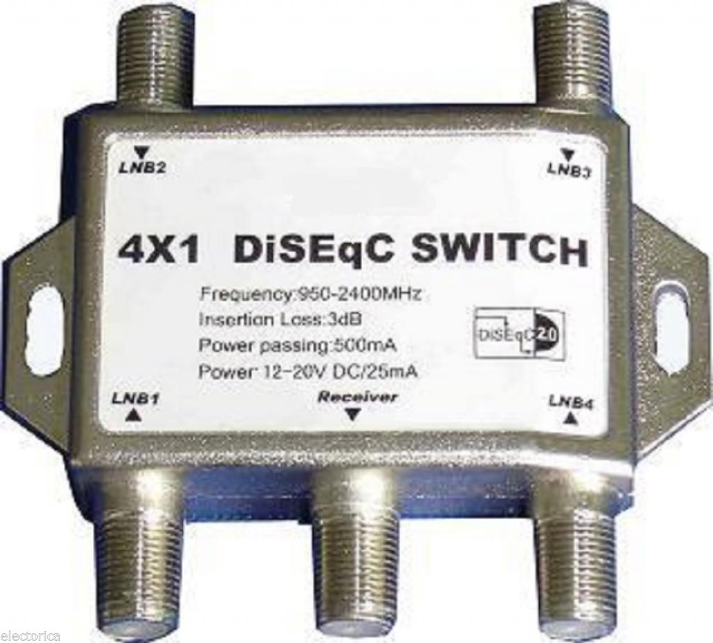Wiring Diagram For A Network Switch Lot Of 10 Satellite Switches 4x1 Diseqc 500ma Frequency