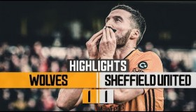 Wolverhampton Wanderers 1 vs 1 Sheffield United highlights 1.12
