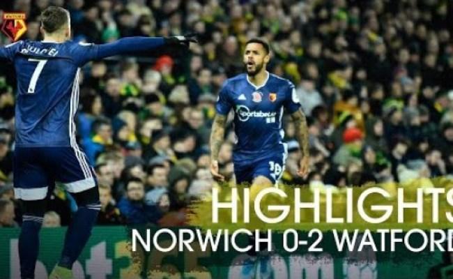 Norwich City Vs Watford Highlights