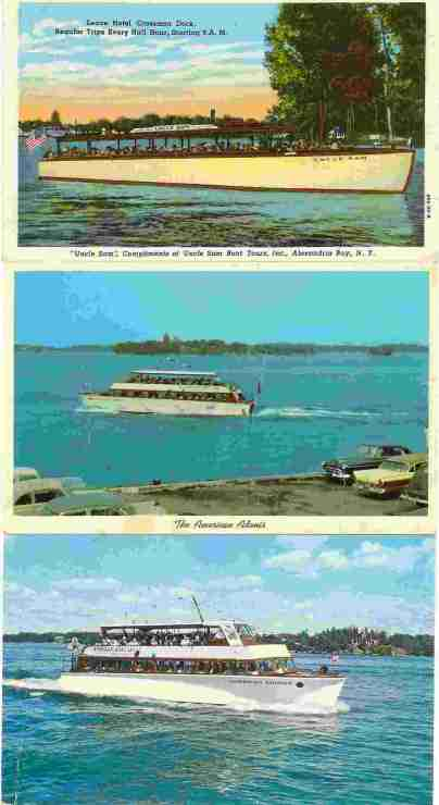 American Boat Lines Tour Boats