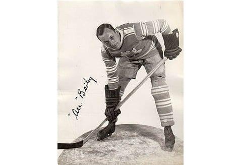 Ace Bailey   Hockey Player