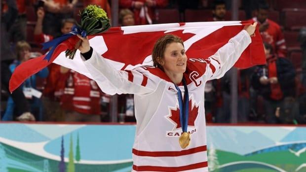 Hayley Wickenheiser   Five-time Olympic medalist