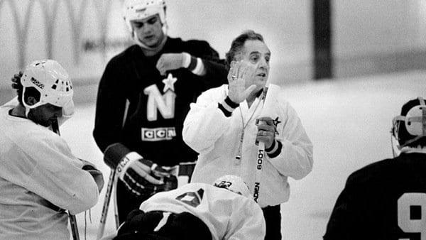 Glen Sonmor   Hockey Player, Coach