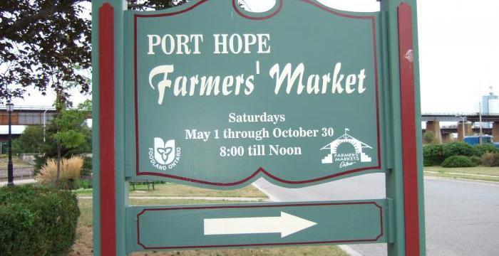 Port Hope Farmers' Market