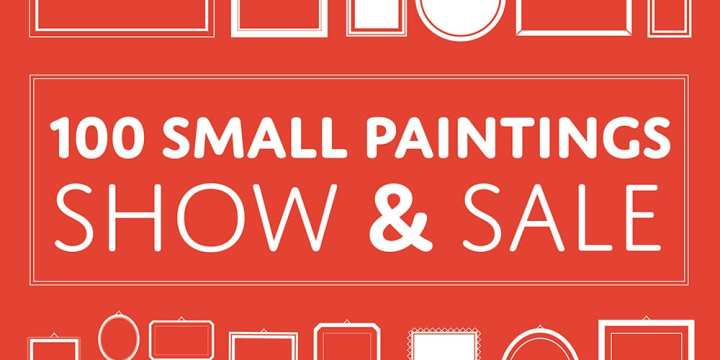 Clarington ON: 100 Small Paintings Show & Sale