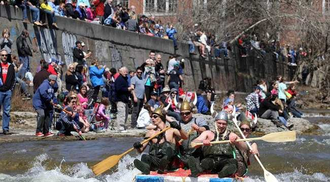 Float Your Fanny Down the Ganny River Race