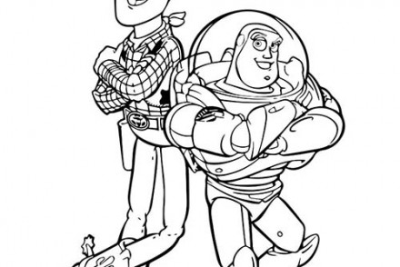Coloriage Disney Woody.Coloriage Disney Imprimer