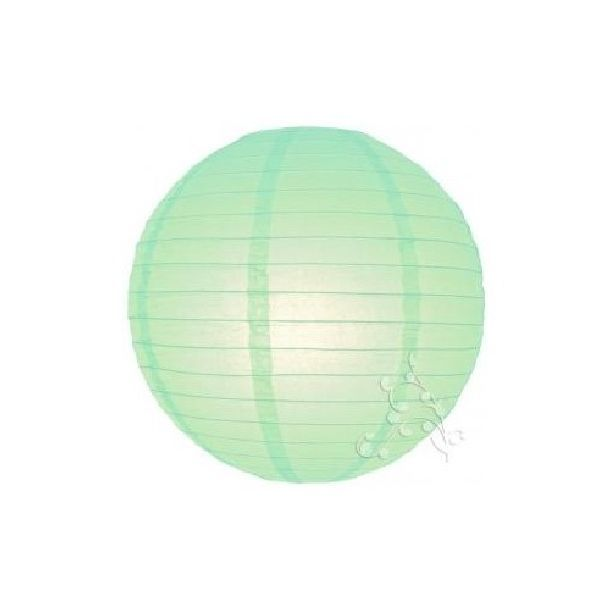 Latest Lampion Boule Chinoise Vert Dueau With Guirlande
