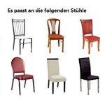 Belle vie* 6 pcs Universelle Housse de Chaise élastique, Extensible pour Décoration de Chaise, Stretch-Housse Couverture de chaise, pour Mariage Cérémonie Réception Et réunion (Gris)