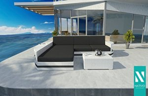 Haute Qualité rotin Canapé lounge Atlantis Mini V2Outdoor Salon nativo©