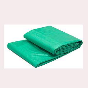 Alysays Bâche Double épaisse en Plastique Vert 180 g/m2, 3 x 4 m.