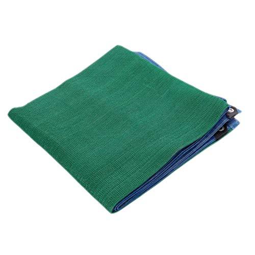 ANUO Toile d'ombrage en Maille 95% Tissu pour pergola Protection Contre Le Soleil Bord collé avec œillets pour terrasses, granges, niches, Polyéthylène, Vert, 4x8m/13.1×26.2ft