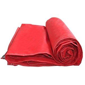 Bâche Toile Oxford Toile Toile Toile Imperméable Toile Solaire Imperméable Bâche Bâche Bâche De Pluie Bâche Rouge Camping en Plein Air Pique-Nique Tente Abri (Color : Red, Size : 6X12M)