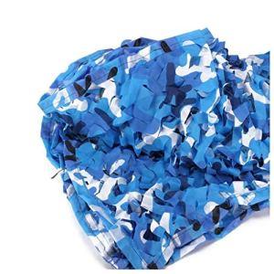 Décoration de filet de camouflage, Voile D'ombrage, Filet De Camouflage Bleu 5x8m, Couverture De Voiture Décoration De Jardin Filet De Protection Extérieur Protection Nette Photographie Nette Chasse C