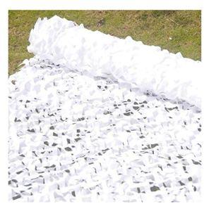 Filet de camouflage de protection solaire, Protection Solaire Filet De Camouflage 4x6m Blanc Parasol Camouflage Net Décoration De Jardin Net Tente De Pêche Camping Parasol Couverture De Voiture Net Ju