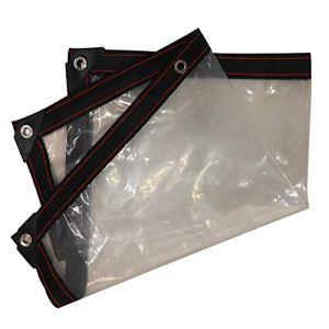 Imperméable, résistant à l'air et au Vent, Anti-UV, 17 Dimensions, Clear, 3X3M