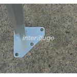 Interouge Barnum Pliant Pro 4×8 Pack Complet Alu 50 PVC 520g/m²