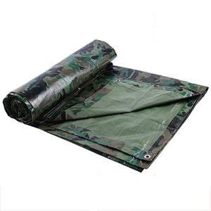 Sisizhang Bâche imperméable pour Usage intensif – Vert (Color : 6X12M)