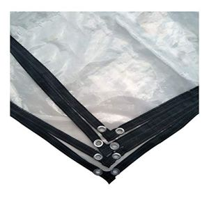 Tangzhi Film imperméable pour extérieur, résistant à l'eau, résistant à la Chaleur, en polyéthylène, 23 Tailles, Clear, 3X6M