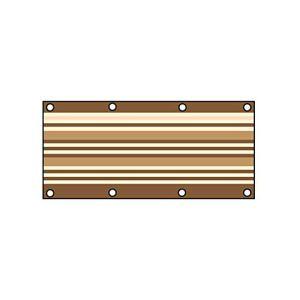 Warooma Filet d'ombrage Anti-UV pour extérieur et Jardin 3x6FT 0,9 x 1,8 m.