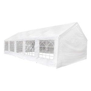 Festnight Barnum Chpiteau Tente de Réception 10×5 Blanc