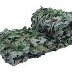 Renforcé Filet De Camouflage Grande Militaire Filet D'ombrage Extérieur Camping Voile d'ombrage Poids léger Durable pour la Chasse xtérieu Sable Camping décoration (Color : 2, Size : 5 * 10M)
