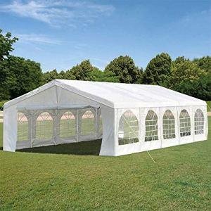 ZYFWBDZ Tente résistante 5X10M, abri d'activité pour Tente de fête de Mariage, pavillon extérieur de Jardin, abri d'auto pour pavillon de pavillon de Traitement du Sol