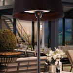 FARGAU INFRAROUGE Parasol Chauffant G-Sun Plaza et Event Style lampadaire Design Puissance réglable (Modèle Plaza)