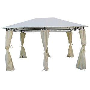 Tente de jardin Pergola tonnelle Barnum 3×4 m ECRU