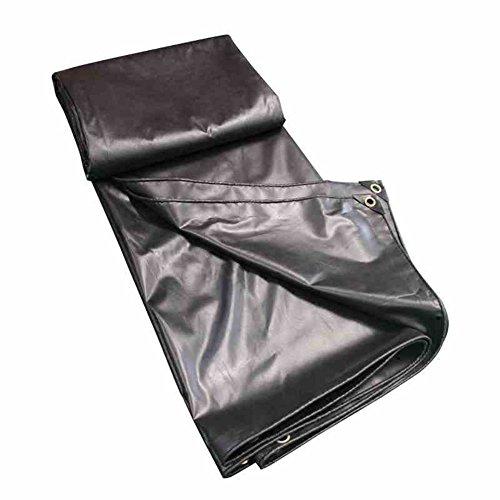 DHMHJH Bâche – Toile de bâche imperméable enduite par PVC de Toile de Protection de Protection Solaire (Taille : 5x10m)