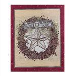 FHTYJ Housse de chaise de Noël pour festival, Père Noël, bonhomme de neige, tabouret – – A