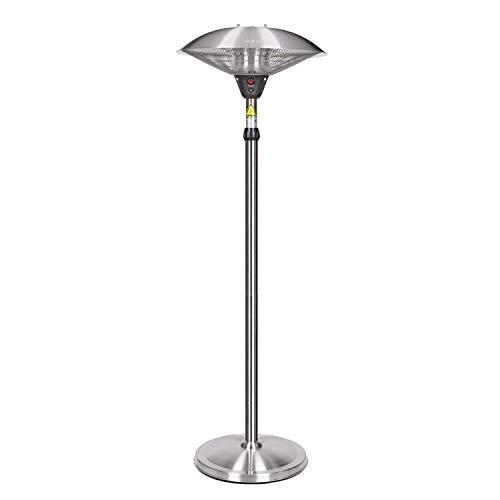 Heater Parasol Chauffant Electrique, Extérieur Chauffe 2100W, Appareil de Chauffage de Terrasse Électrique pour Jardin Extérieur Ortable