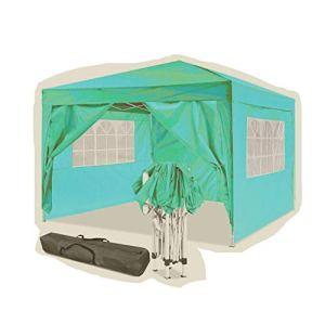 Jackbobo 3x3m/3x6m Gazebo Tente pavillon de Jardin étanche Tente de fête Tente de Jardin Pliable Festival