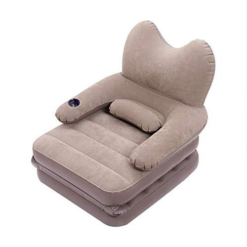JIAYING Gonflable Canapé Pliante Chaise Longue Canapé Gonflable Chaise Longue Chaise Air Canapé lit Gonflable Loisirs Canapé Chaise, Design Pliable, léger et Facile à Transporter, for Une Utilisation