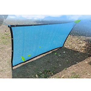 WXQIANG Filet d'ombrage léger et respirant pour rafraîchir les plantes pour serre, jardin, camping, abris du soleil, isolation thermique, (couleur : bleu, taille : 4 x 8 m)