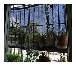 XWZH Feuille de bâche Universelle Protection Durable Grand charbonné Net Ombrage Tissu UV Couverture Bâche étang Bâche Toile Camping Jardin Bâche (Color : Black, Size : 5x10m)