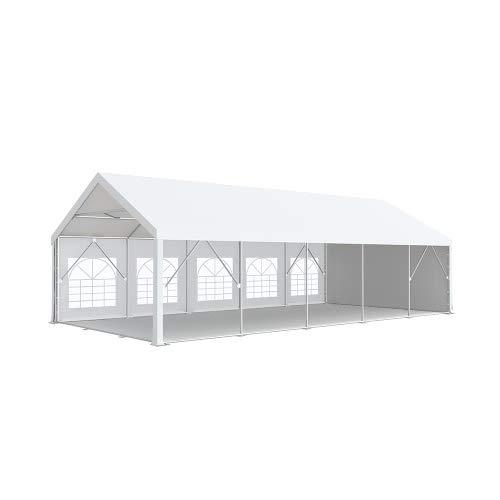 Interouge Tente de réception Pro 5x10m Premium Plus PVC 520g/m² Tubes 76mm