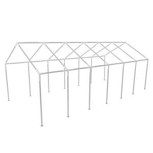 Tidyard Chassis en Acier pour Tente de Réception 12 x 6 m