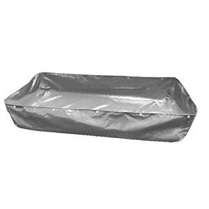 WXQIANG Bâche imperméable robuste avec œillets pour aquarium – Pliable – Sans support – 18 tailles – Protection solaire – Isolation thermique – Couleur : gris – Taille : 3 x 6 x 1 m