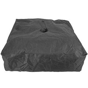 Zer one Poids Noir Sac de Sable extérieur Pop Up Tente d'auvent Gazebo Poids Sac de Sable Tente Parasol Parasol Base de Parapluie Pris en Charge