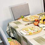 Qishare 4 Pack Housses de Chaise de Salle à Manger Ajustement Extensible élastique Universel Lavable Housse de Chaise Parsons pour Salle à Manger, hôtel, cérémonie, Mariage(Taupe)