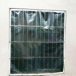 La bâche de bâches épaississent Le Tissu imperméable Transparent de Film Plastique imperméable, Taille Personnalisable (Color : Clear, Size : 3X6M)