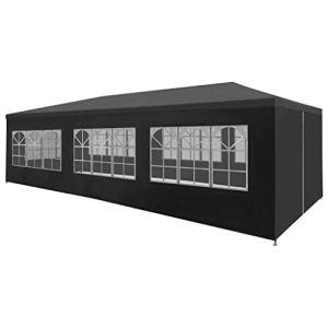 Unfade Memory Tente de réception 3 x 9 m Anthracite