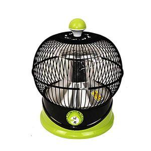 zks Poêle À Rôtir Réchauffeur De Cage À Oiseaux Lumière Douce Protection des Yeux Chaleur Rapide Réchauffeur Électrique Poêle À Rôtir Flamme Chauffage Électrique Table De Ménage Brasero Électrique
