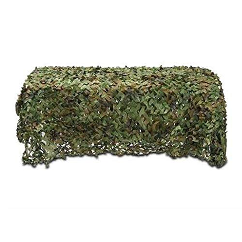 Bricolage Camouflage Camping Cachée Caden Army Tente Jardin Imperméable Pseudo Mack Rope Network Camping Refuge(Size:5x10m/16.4×32.8ft,Color:Une)